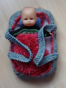 Tragtasche für Puppe von ca. 30 cm Fr. 35.-
