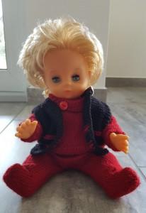 Second hand-Puppe mit Kleider 35 cm Grösse (Auf Anfrage sind Kleider auch ohne Puppe zu kaufen) Fr. 35.-