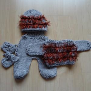 Pullover-Hose-Finkli-Kappe für Puppen von 30-35 cm Grösse Fr. 18.-