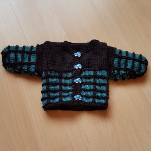 Jacke für Puppe von 30-35 cm Grösse Fr. 17.-