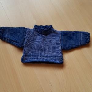 Pullover für Puppe von 30-35 cm Grösse Fr. 16.-
