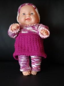 Second hand-Puppe mit Kleider, 45 cm Grösse (Auf Anfrage sind Kleider auch ohne Puppe zu kaufen) Fr. 40