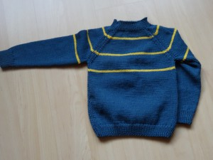 Pullover - blaugelb Grösse 92 Fr. 38.-