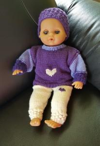 Second hand-Puppe mit Kleider 40 cm Grösse, weicher Körper (Auf Anfrage sind Kleider auch ohne Puppe zu kaufen) Fr. 40.-