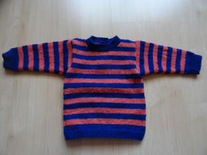 Pullover - blaurosa Grösse 74 Fr. 32.-
