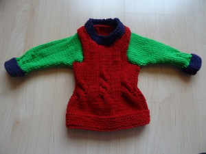 Pullover Tricolore Grösse 74 Fr. 32.-