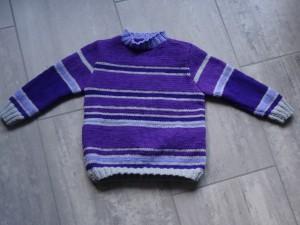 Pullover - violett Grösse 104 Fr. 37.-