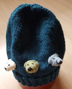 Kindermütze – Bären Grösse 53 cm Kopfumgfang Fr. 32.-